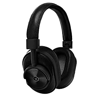 Master & Dynamic MW60 Wireless Premium Leather Over-Ear Headphones with Extended Bluetooth 4.1 Range & 45mm Neodymium Driver Black Metal/Black Leather (B01IIAKQ9I) | Amazon price tracker / tracking, Amazon price history charts, Amazon price watches, Amazon price drop alerts