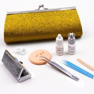 XXL Lashes Glamour Kit per allungamento ciglia Colore oro