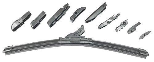 Preisvergleich Produktbild Scheibenwischer universal alle Fahrzeuge 700 mm mit 10 Adapter F210,  F211,  F212,  F213,  F214,  F216,  F217,  F218,  F220