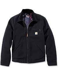 Vestes de travail Carhartt fédéral de canard Vestes Detroit EJ001, couleur:noir;pointure:XL