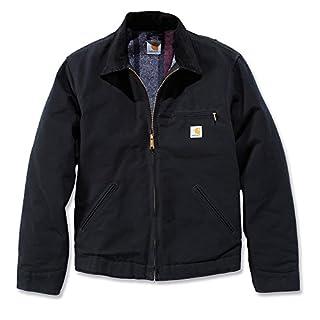 Carhartt .EJ001.BLK.S005 Duck Detroit Jacket, Medium, Black (B0055DRMKS)   Amazon price tracker / tracking, Amazon price history charts, Amazon price watches, Amazon price drop alerts