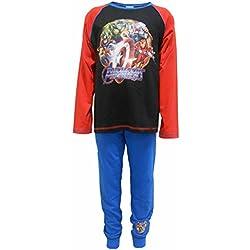 Marvel Avengers de superhéroes Niños 100% pijamas de algodón de 9-10 años