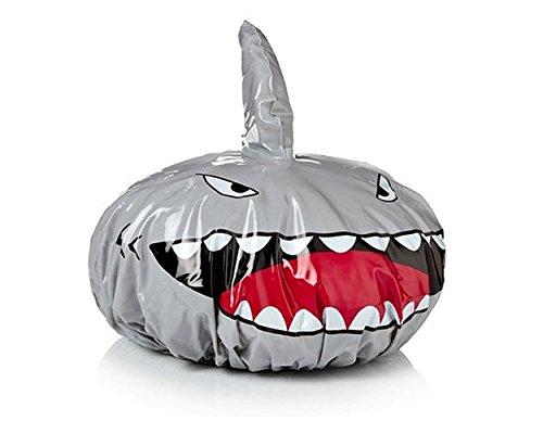 Lovely creative Cartoon forma tiburón gorro ducha