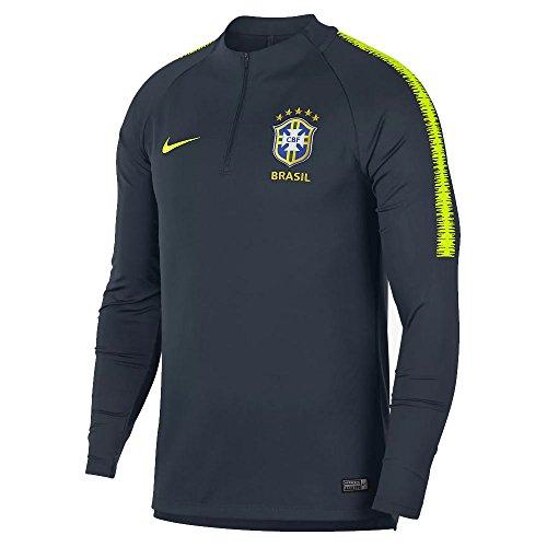 Nike - Brasil Sudadera Tecnica WC2018 Color: Gris Talla: L