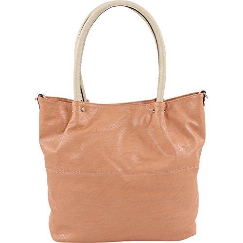 Maestro Surprise Handtasche Bag in Bag Shopper 41 cm altrosa ice