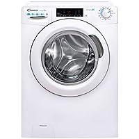 Candy - Lavadora secadora Smart Pro CSOW 4965TWE/1-S, 9+6gs, 7 programas rápidos, wi-Fi&bluetooth, Vapor, certificado lana, 1400rpm, blanco