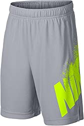 Nike Nk Dry Children's Shorts, Children's, Shorts Nk Dry, Blackcool Grey, S