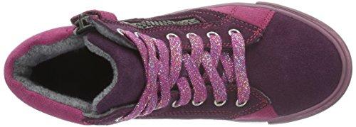 Richter Kinderschuhe Fedora, Baskets Basses Fille Violet - Violett (eggpla/Mallow/Fuchsia 7601)
