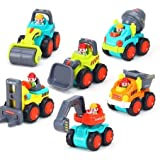 Blossom 6 Pcs Truck Set Mini Construction Vehicle Cars- Forklift, Bulldozer, Road Roller, Excavator, Dump Truck, Cement Mixer Toy For Boy / Mini Engineering Car Tractor Toy/ Model Toy For Children