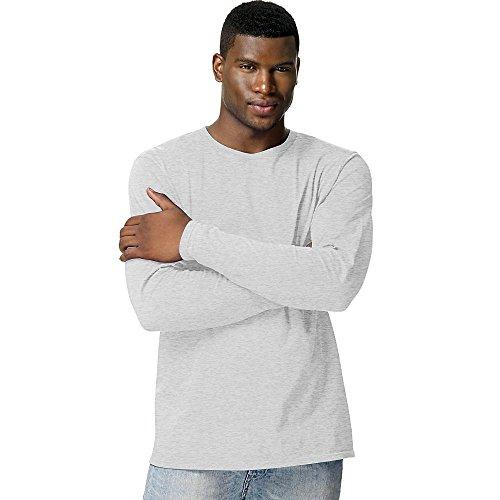 Hanes 498L 100% Ringspun Cotton Nano-T T Shirt