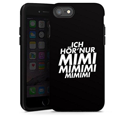 Apple iPhone 6s Silikon Hülle Case Schutzhülle Sprüche Statements Spruch Tough Case glänzend