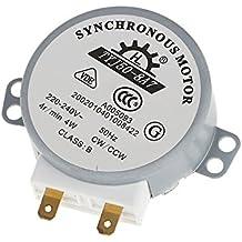 pligh (TM) plato giratorio Turn Table Motor Síncrono para horno microondas AC 220–240V 4W