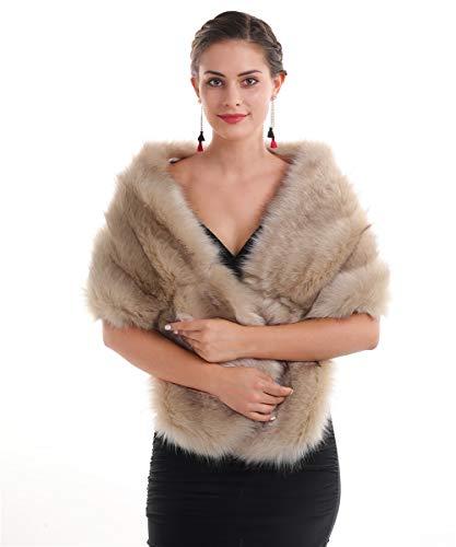 Saferin Chaqueta cuello abrigo bufanda de las mujeres cuello calentador...