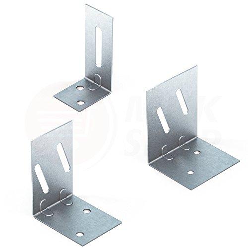 4x Türpfosten Winkel Türwinkel für CW / UA Profil Trockenbau Türverbinder 100 mm