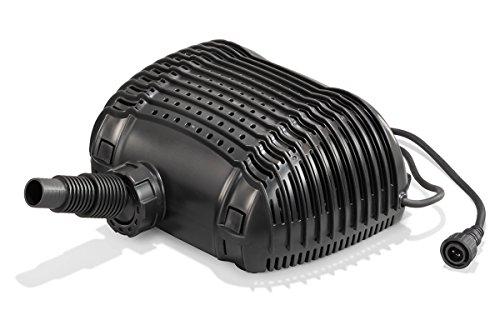 Solar Ersatzpumpe Lugano 12-18V DC max. 5000 l/h Förderleistung Bachlauf Teichpumpe Gartenteich 101776