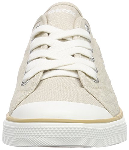 Geox JR CIAK GIRL E, Sneakers basses fille Beige
