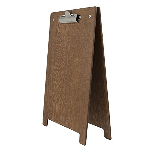 a4-a-frame-clipboard-with-dark-oak-finish-230mm-x-350mm-by-chalkboards-uk