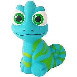 Igemy Süße Chamäleon Simulation Langsam Steigendes Duftendes Stress Relief Stressabbau Squeeze Spielzeug (Blau)