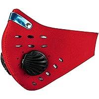 PrimeMatik - Neopren Maske für Mund und Nase für Fahrrad Biker und Skifahrer rot preisvergleich bei billige-tabletten.eu