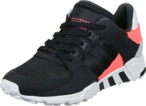 adidas EQT Support RF, Sneakers Basses Mixte Adulte core black-core black-turbo