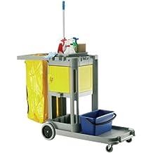 Janitorial Express cf071structocart caja fuerte, plástico