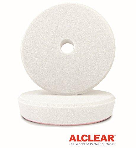 ALCLEAR Kid de 2, pad de polissage doux pour les machines RUPES, pour un 3″ disc system, Ø 95/80 x 25 mm, blanc