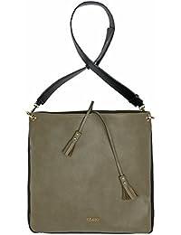 Kadell Borsa in pelle morbida in pelle vintage Borsa a tracolla Sacchetto di Tote Cintura di spalla larga