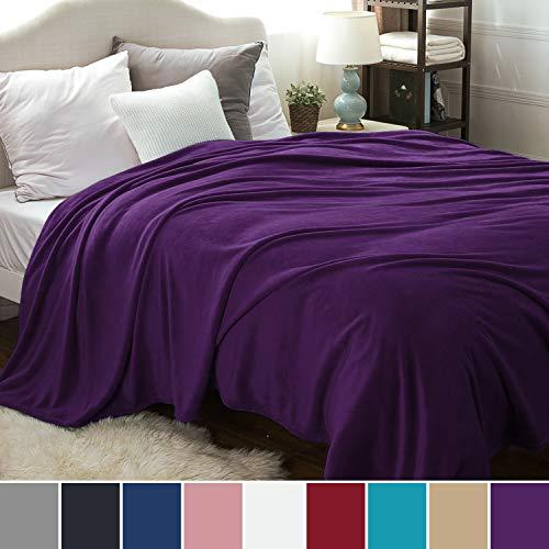 Bedsure Manta para Sofas de Franela 230x270cm - Manta para Cama 180...