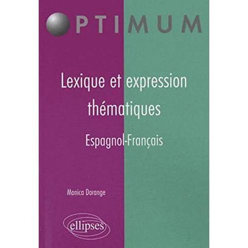 Lexique et expression thématiques - espagnol