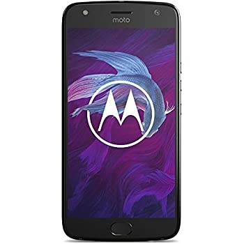 "Motorola Moto X 4 Dual SIM 4G 32GB Black - smartphones (13.2 cm (5.2""), 32 GB, 12 MP, Android, 7.1.1, Nougat, Black) [versione Germania]"