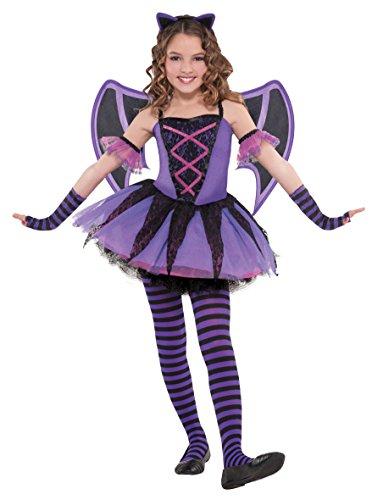 Abendkleid - Ballerina Bat-Kostüm - Mädchen im Alter von 3-4 - AMS997481 - Christys (Drei Mädchen Halloween Kostüme)