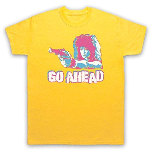 Inspiriert durch Weird Science Lisa Go Ahead Unofficial Herren T-Shirt Gelb
