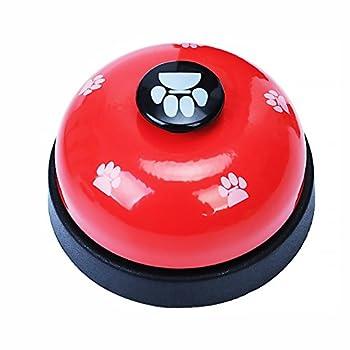 Naisicatar Animal Domestique D'entraînement Cloches Desk Bell Appel Bell Jouets Interactifs pour Chien Chiot Dîner Repas Sonnettes d'apprentissage De La Propreté Et De Communication