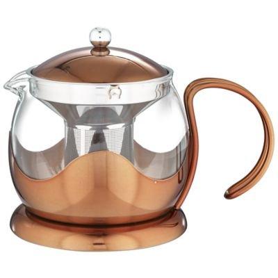 La Cafetière Origins Copper-Effect Finish 4-Cup Teapot - 1.2 litre