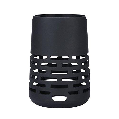 Jintime Speaker Schutzhülle für Bose SoundLink Revolve+ Silikon Tragetasche Schutzhülle Abdeckung (Black)