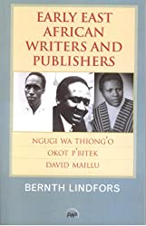 Early East African Writers and Publishers