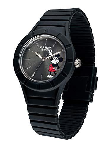 Hip Hop Watches - Orologio Mickey Mouse da Uomo Edizione Speciale Anniversario Topolino - Cinturino in Silicone