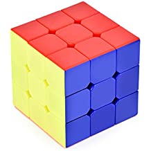Cyclone Boys Cubo Mágico 3 x 3 x 3 56mm Velocidad Lisa Profesional Stickerless Puzzle Cubo