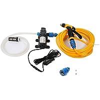 Idropulitrice portatile lavaggio auto sistema di pulizia Kit 130psi Pompa dell' acqua per auto, Marine, Pet, Finestra, Travel & # xFF0C; giardinaggio e campeggio
