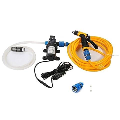 Tragbare Hochdruckreiniger Car Wash Reinigung System Kit 130psi Wasser Pumpe für Auto, Marine, PET, Fenster, Reisen & #-, Garten- und Camping
