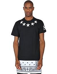 Pizoff T-Shirt Lunga con Inserto in Tessuto e Zip Paisley 97888a026607