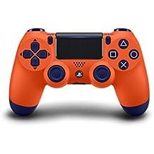 Sony - Controller Dualshock 4, Color Naranja (PS4)