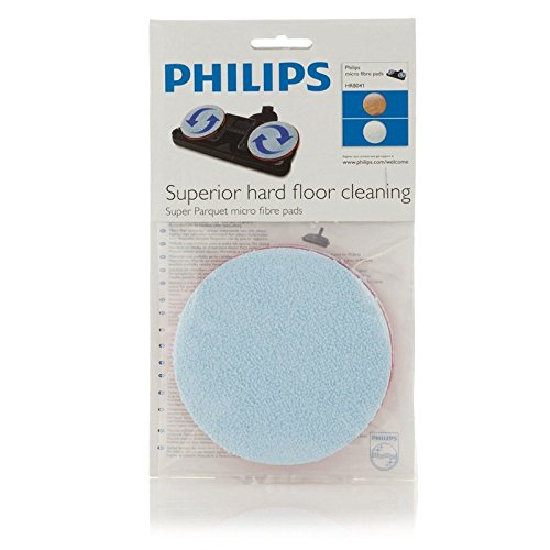 Philips HR8041/01 Micro-Fibre Replacement Pads for Vacuum Cleaners (2 Pack)