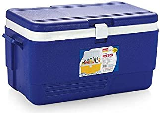 Aristo Chiller 50 Litre Ice Box with tap Red/Blue Big Quantity Pack (Large)