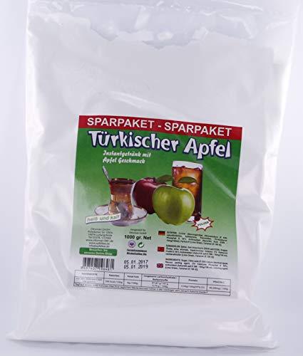 Ottoman Instant Teegetränk mit grünem Apfel 1000 g Beutel türkischer Apfeltee