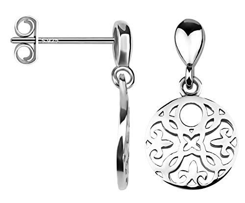 SOFIA MILANI Damen Ohrhänger Kreis Rund 925 Silber 20552