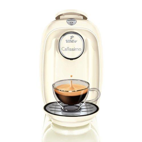 Tchibo Cafissimo PICCO Kaffeekapselmaschine, White Snow