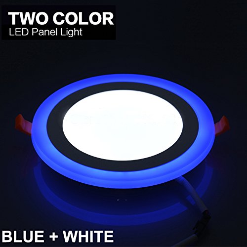 Citra 10W LED Round Panel Ceiling Indoor LED 3D Effect Lighting (Double Color)