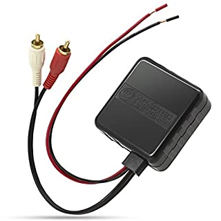Adapter-Universe® KFZ Auto Radio AUX 12V Bluetooth Adapter Kabel Cinch Stecker Audio Universal