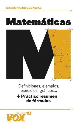 Matemáticas (Vox - Temáticos) por Aa.Vv.